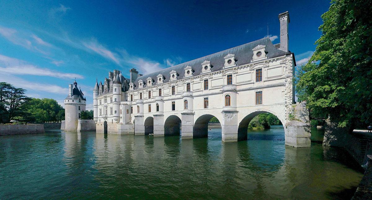 Immagine del castello di Chenonceau in Francia
