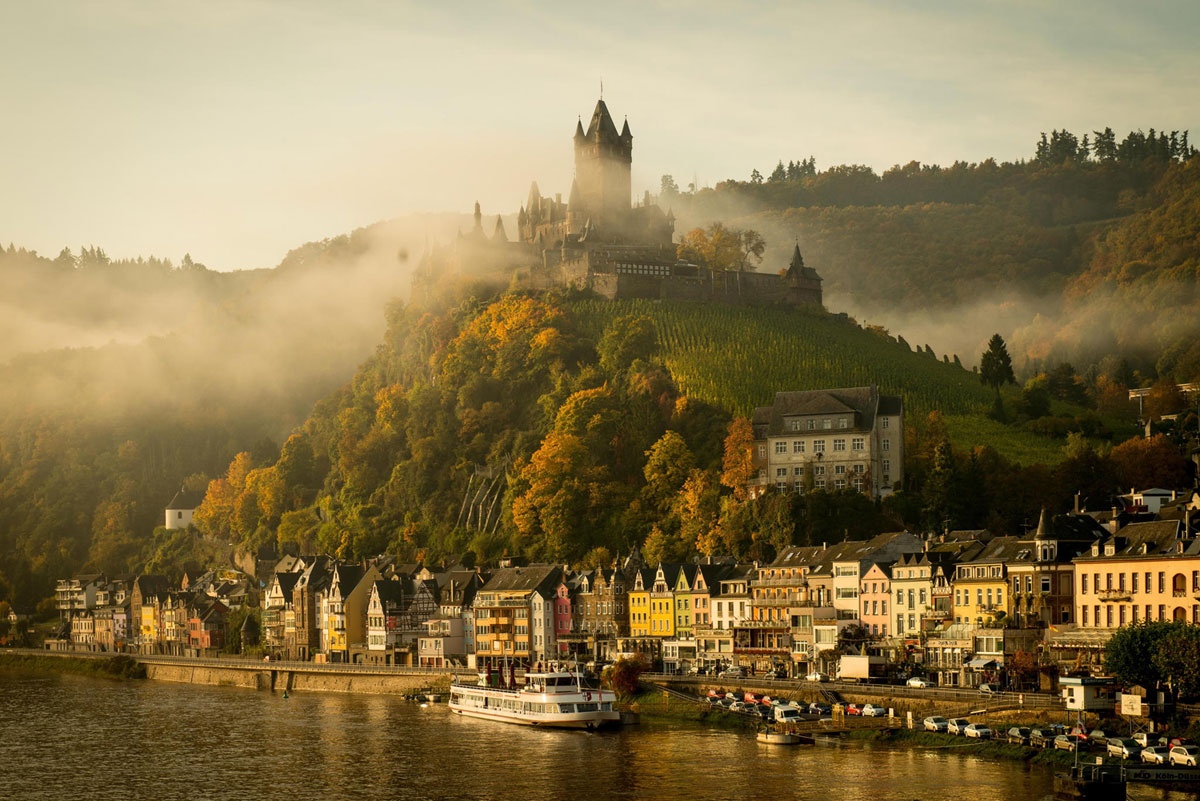Immagine del castello Cochem in Germania
