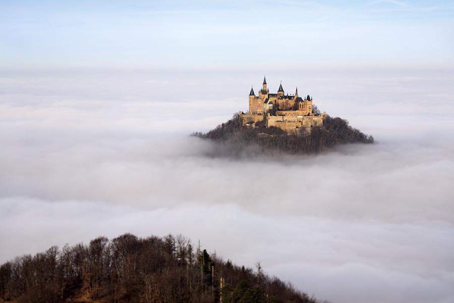 Immagine del castello di Hohenzollern in Germania