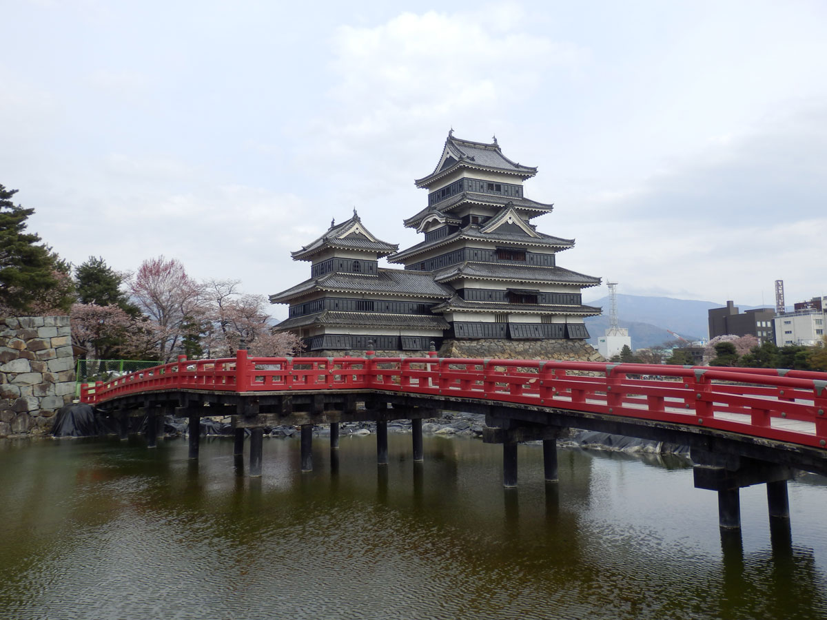 Immagine del castello di Matsumoto in Giappone