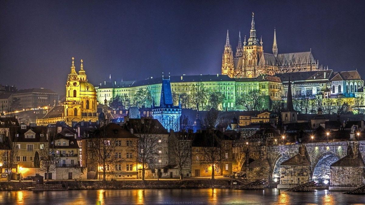 Immagine del castello di Praga in Repubblica Ceca