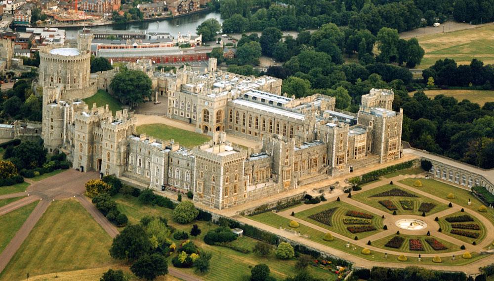 Immagine del castello di Windsor in Inghilterra