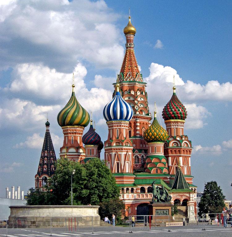 Foto della cattedrale di San Basilio a Mosca