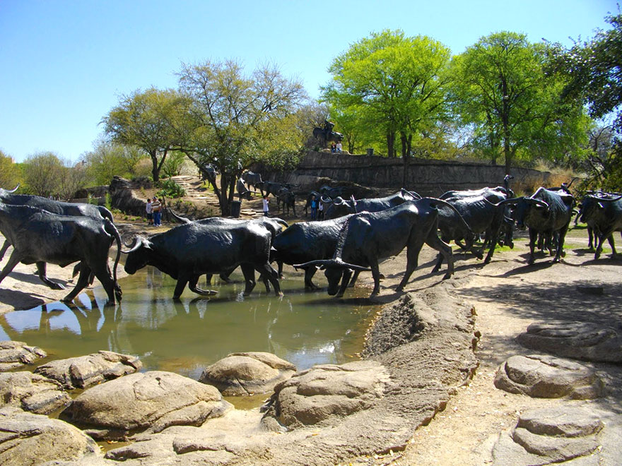 Immagine dell'opera Cattle Drive di Robert Summers