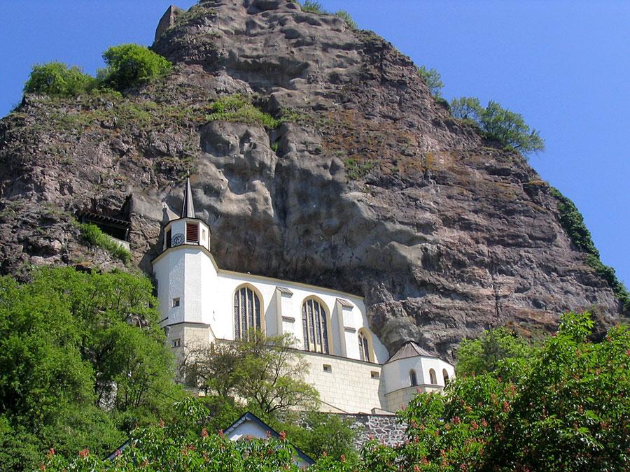 Foto della chiesa di Felsenkirche in Germania