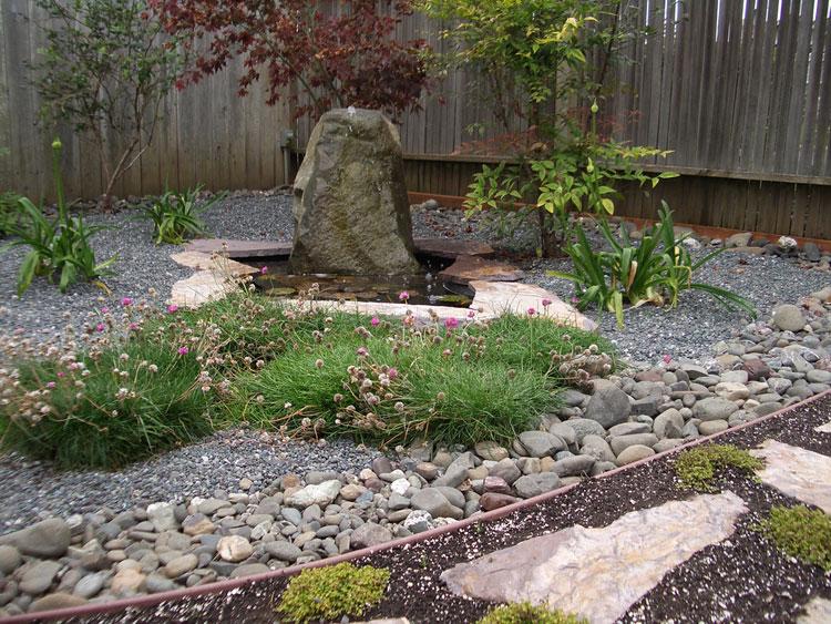 Foto del giardino zen in stile giapponese n.06