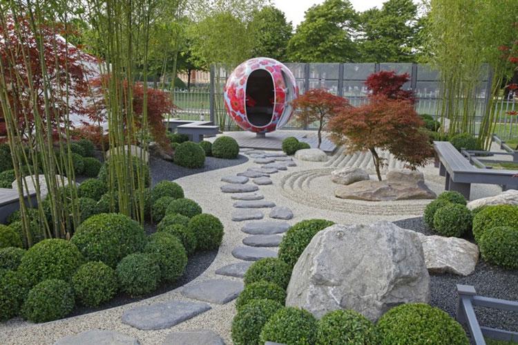 30 foto di giardini zen stupendi in stile giapponese for Foto giardini moderni