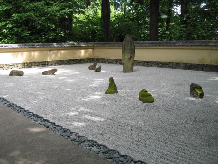 Foto del giardino zen in stile giapponese n.14