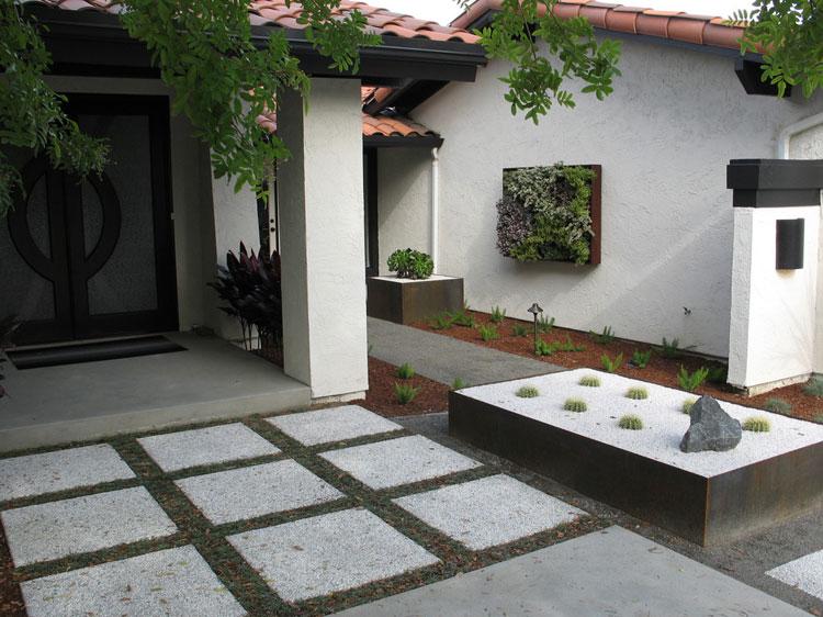 Foto del giardino zen in stile giapponese n.15
