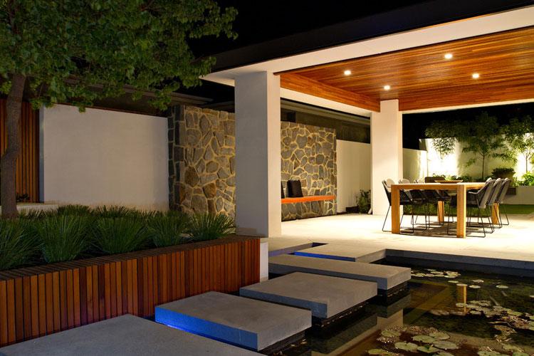 Foto del giardino zen in stile giapponese n.22