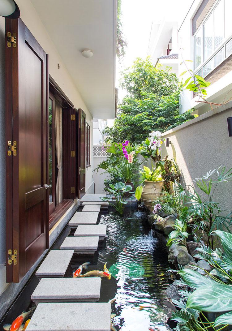Foto del giardino zen in stile giapponese n.23