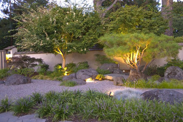 Foto del giardino zen in stile giapponese n.28