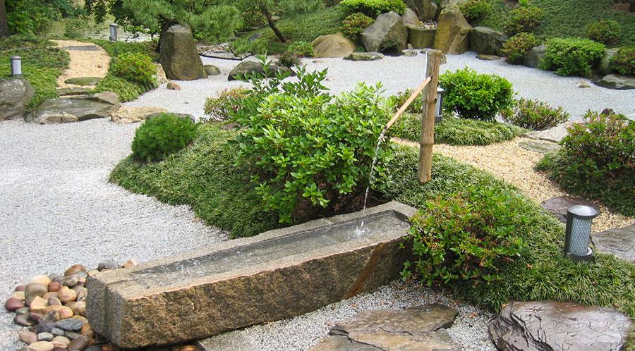 Foto del giardino zen in stile giapponese n.33