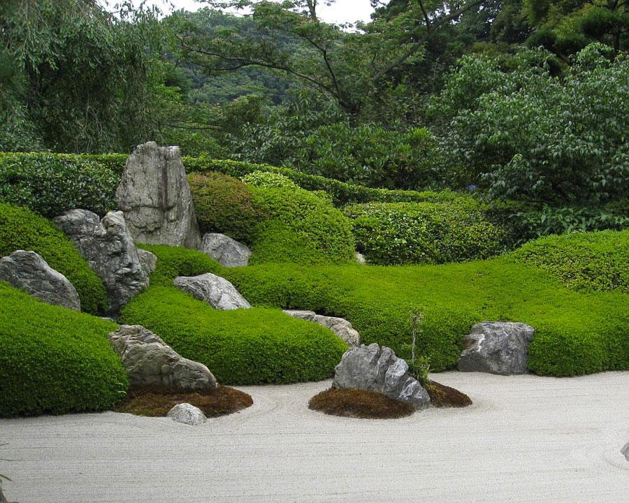 Foto del giardino zen in stile giapponese n.37