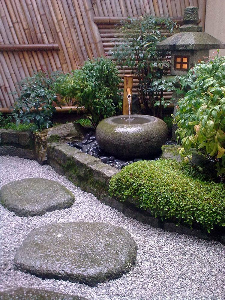 Foto del giardino zen in stile giapponese n.38
