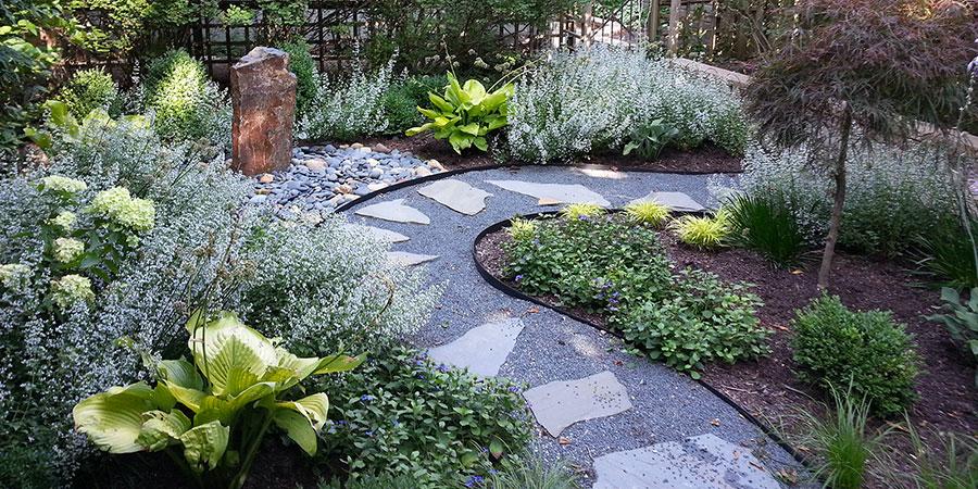 Foto del giardino zen in stile giapponese n.39