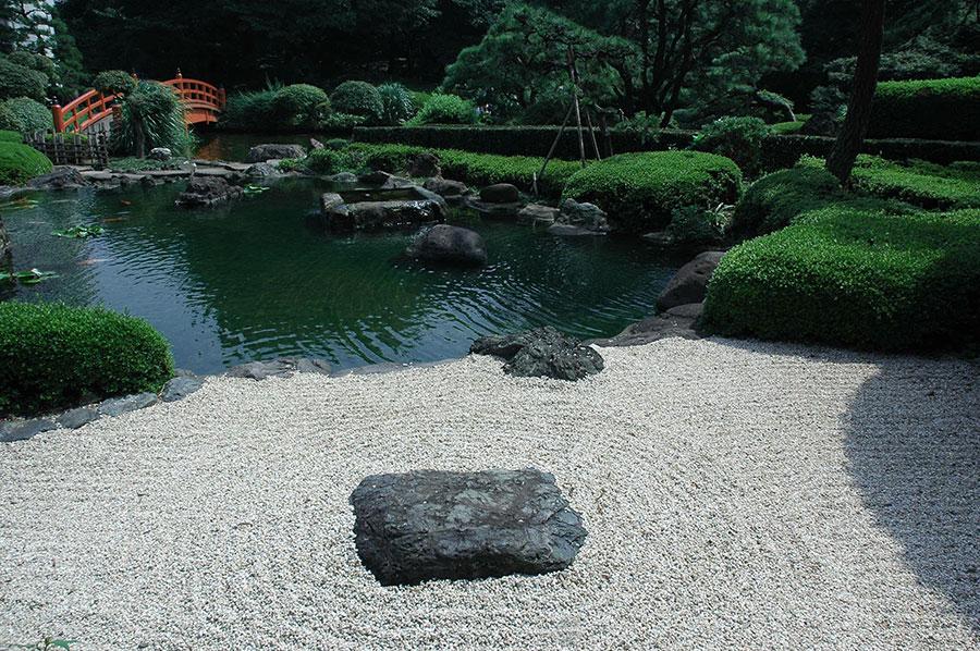 Foto del giardino zen in stile giapponese n.40