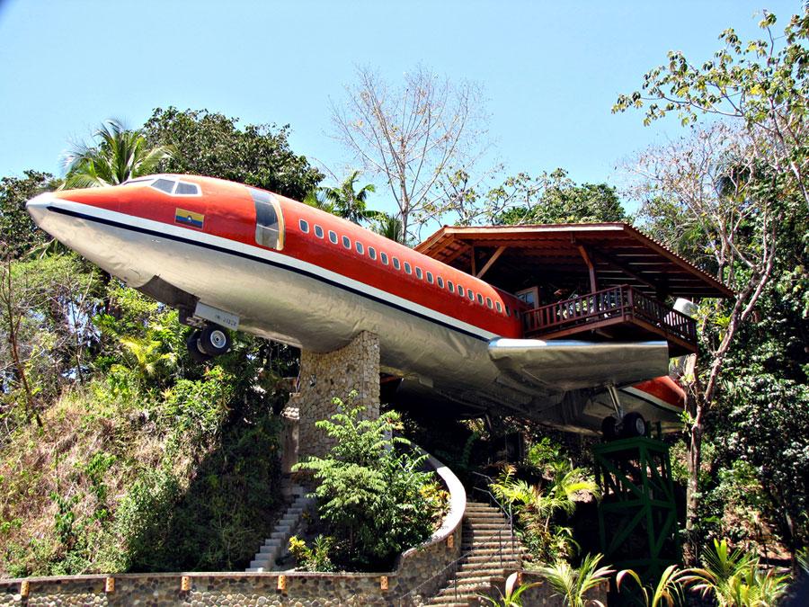 Foto dell'esterno dell'hotel Costa Verde in Costa Rica