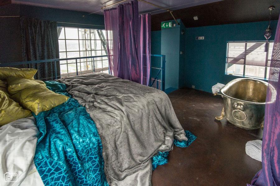 Foto dell'interno dall'hotel Faralda NDSM Crane ad Amsterdam