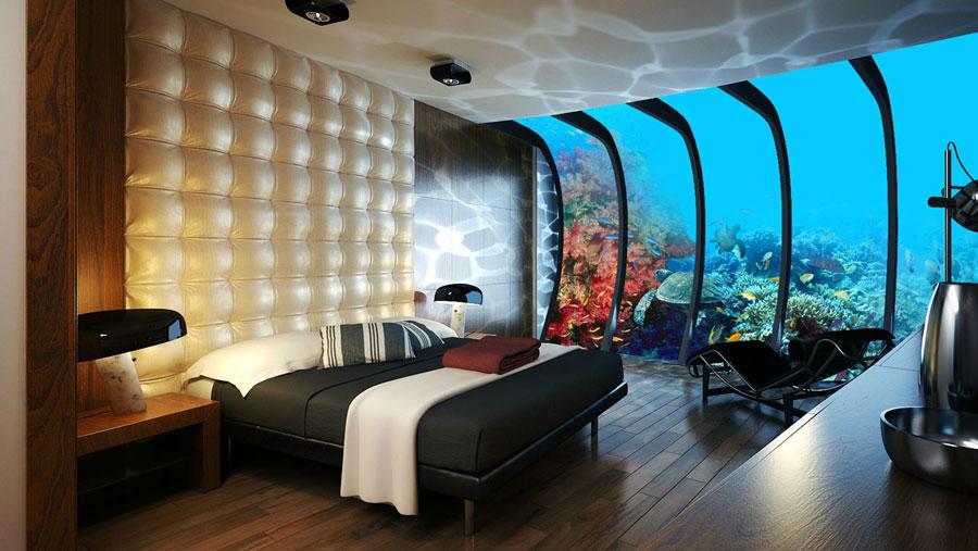 Foto dell'interno dell'hotel Poseidon Undersea Resort Figi