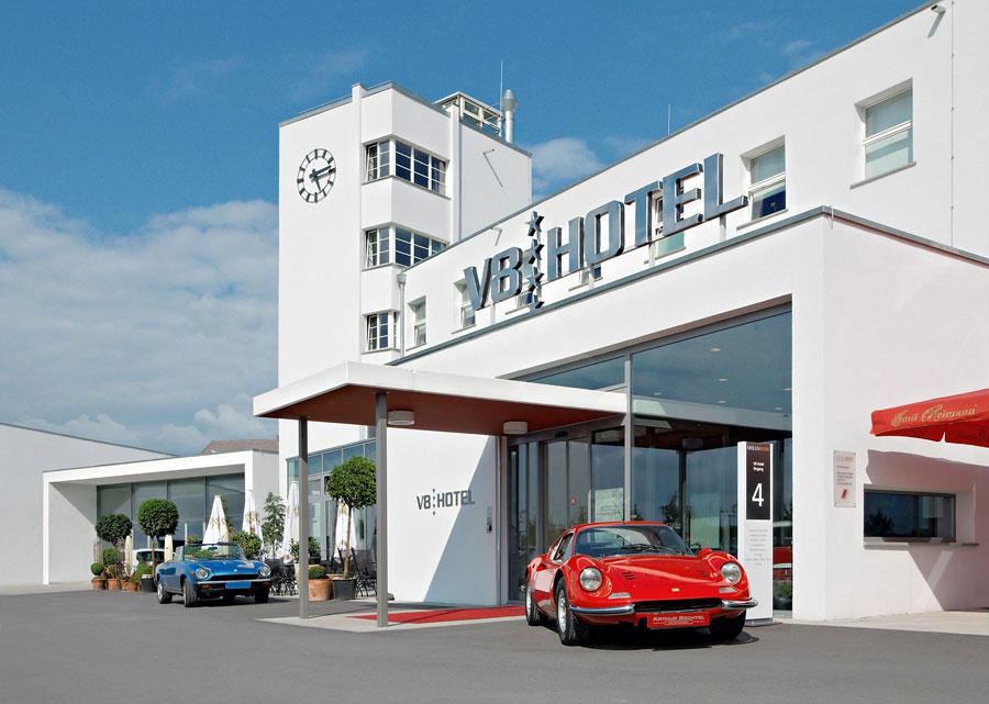 Foto dell'esterno dell'hotel V8 a Stoccarda