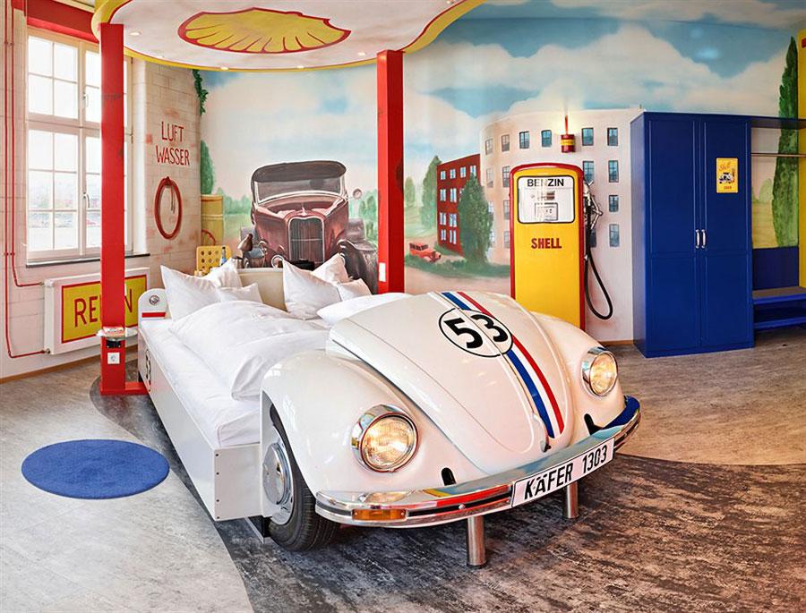 Foto dell'interno dell'hotel V8 a Stoccarda