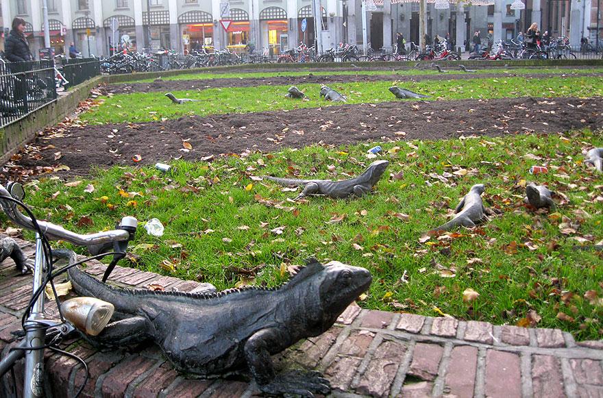 Immagine dell'opera Iguana Park in Olanda