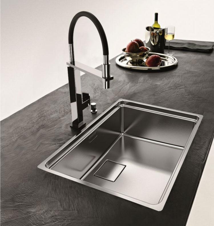 Emejing lavelli cucina in resina images - Lavello cucina resina ...