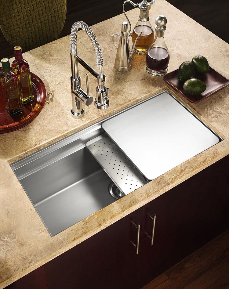 Immagine del lavello da cucina dal design moderno n.03