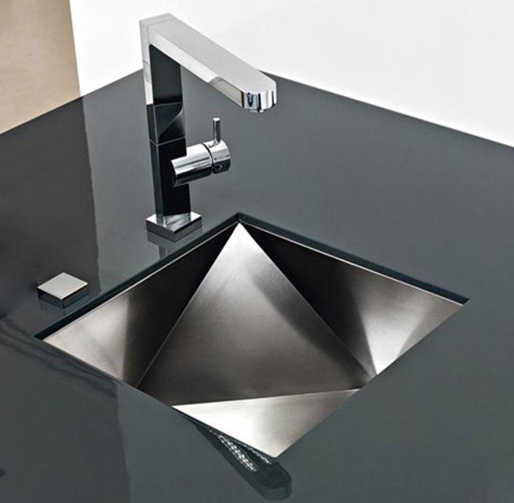 Immagine del lavello da cucina dal design moderno n.04