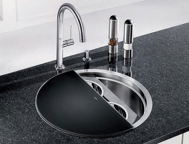 Immagine del lavello da cucina dal design moderno n.06