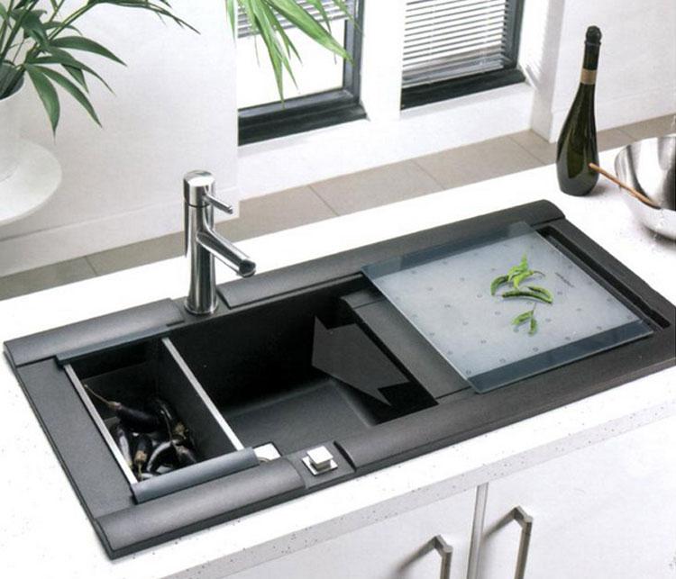 Immagine del lavello da cucina dal design moderno n.07