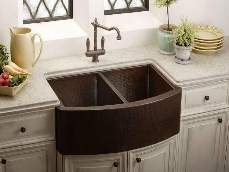 Immagine del lavello da cucina dal design moderno n.15
