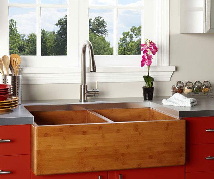 Immagine del lavello da cucina dal design moderno n.16