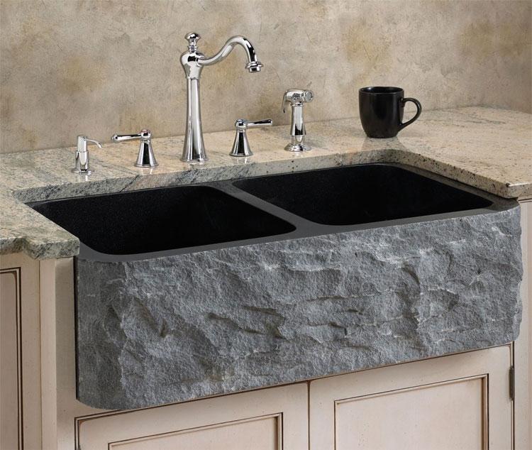 Immagine del lavello da cucina dal design moderno n.17