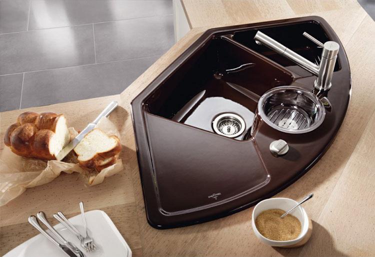 Immagine del lavello da cucina dal design moderno n.19