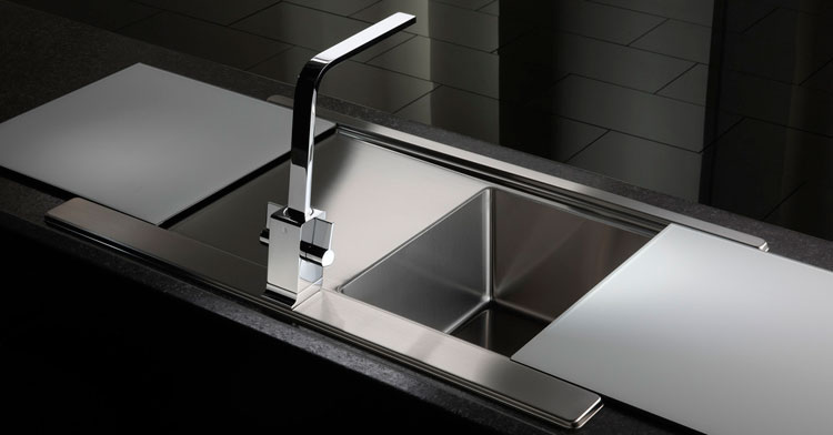25 lavelli da cucina dal design moderno - Lavello cucina resina ...