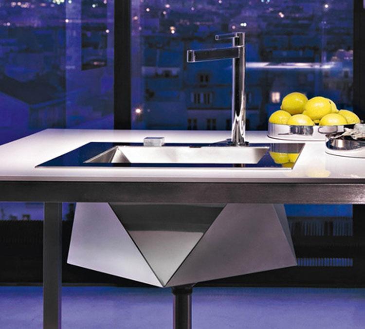 Immagine del lavello da cucina dal design moderno n.21