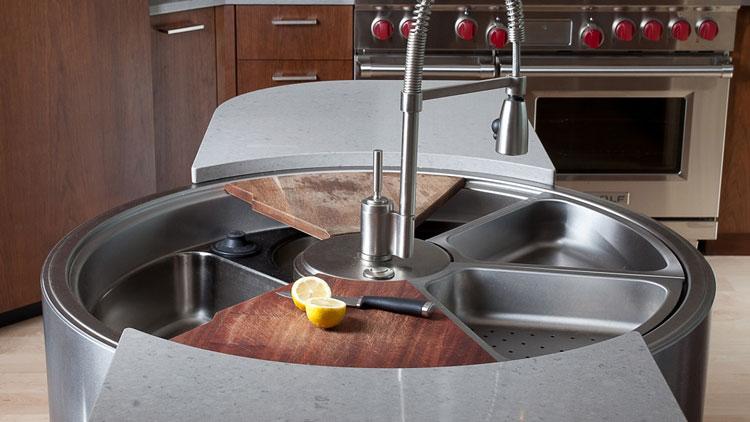 Immagine del lavello da cucina dal design moderno n.22