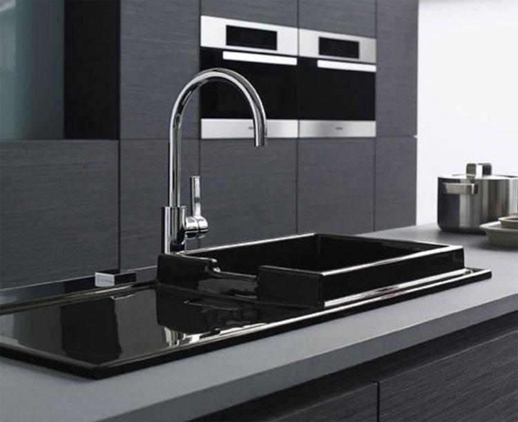 Immagine del lavello da cucina dal design moderno n.23