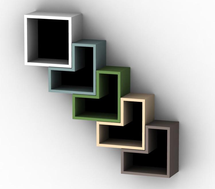Mensola dal design originale n.03