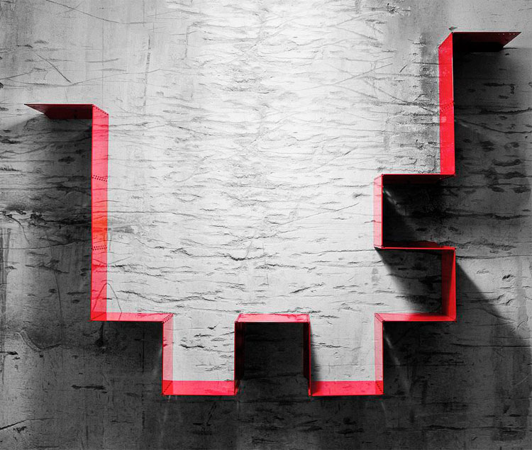 Mensola dal design originale n.10
