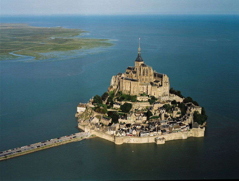 Castello di Mont Saint Michel in Francia