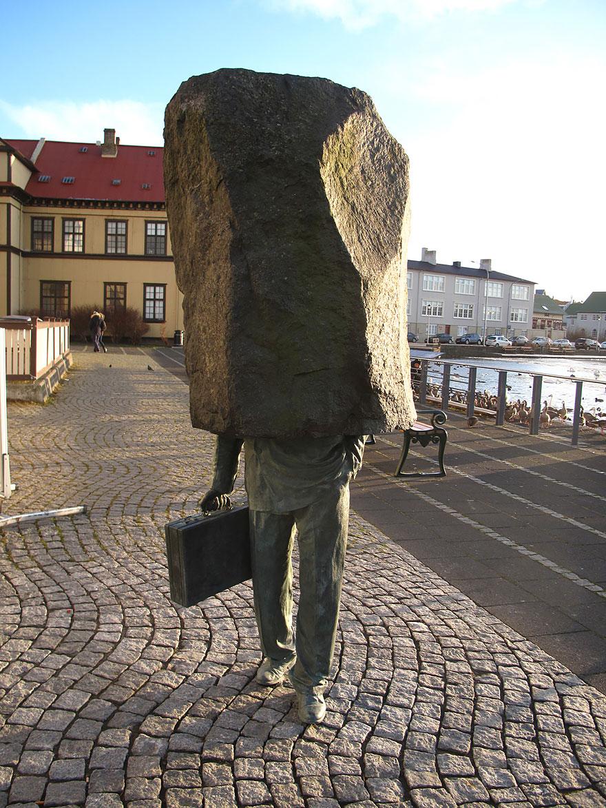 Immagine del Monumento Al Lavoratore Ignoto di Magnus Tomasson