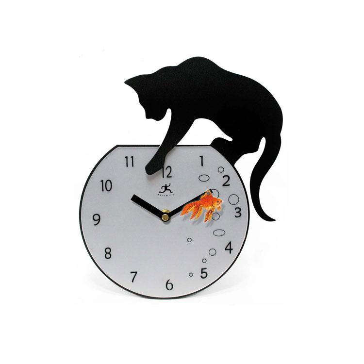 40 orologi da parete molto particolari for Orologi a parete da cucina