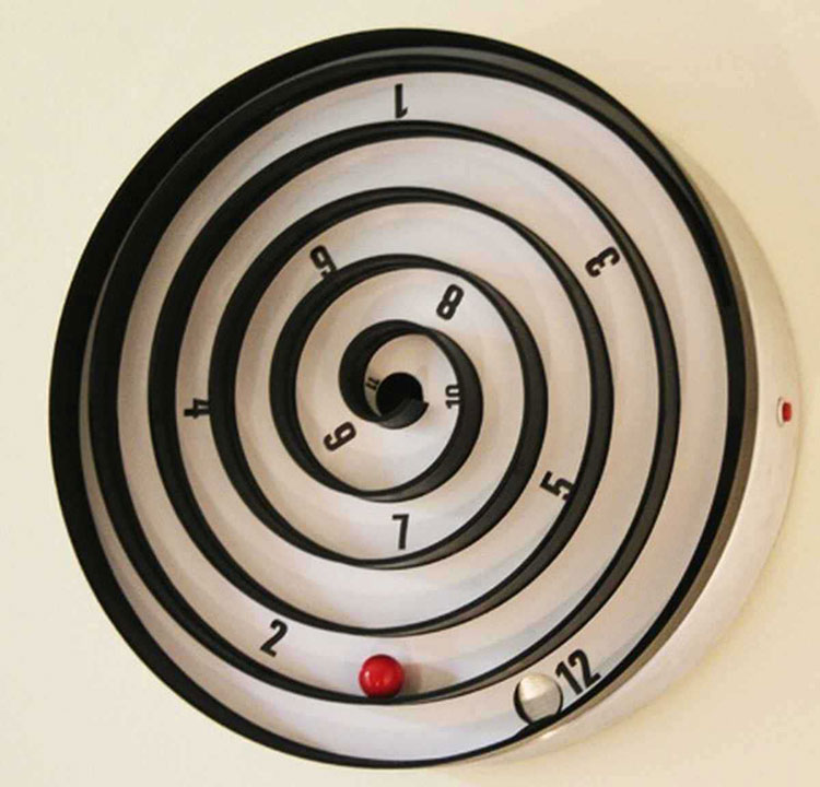 Orologio da parete strani for Orologi parete particolari