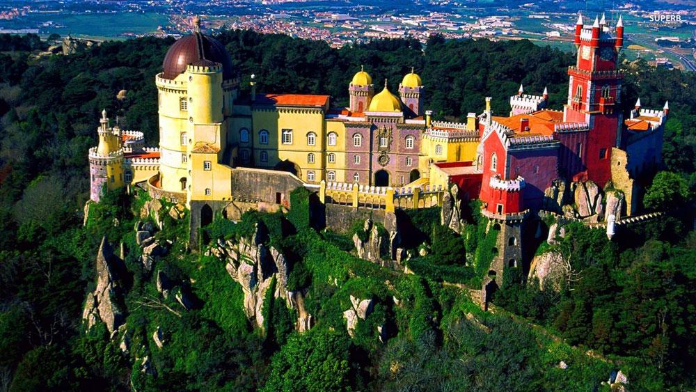Immagine del Palacio da Pena in Portogallo
