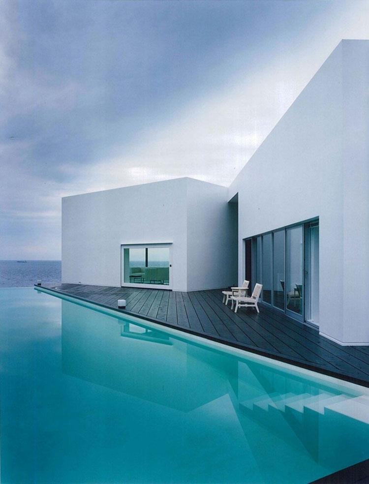 Foto della piscina dal design moderno n.19