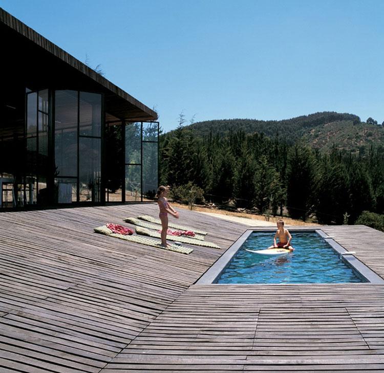 Foto della piscina dal design moderno n.20