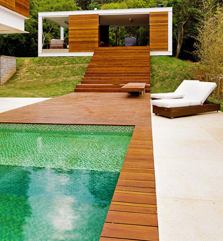 Foto della piscina dal design moderno n.21